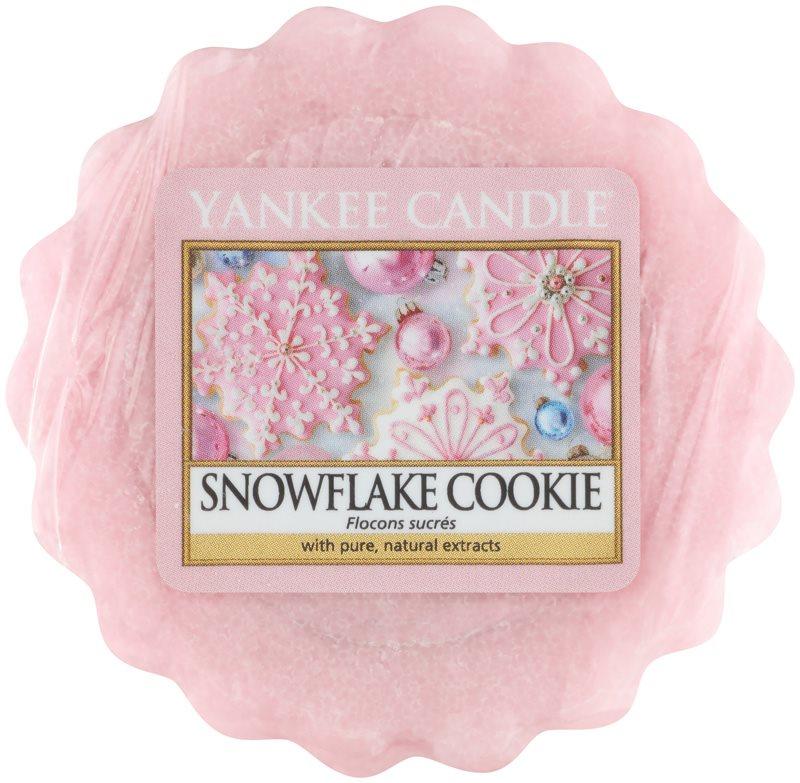 Yankee Candle Snowflake Cookie tartelette en cire 22 g
