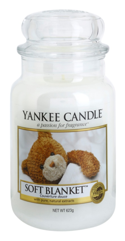 Yankee Candle Soft Blanket vela perfumada  623 g Classic grande