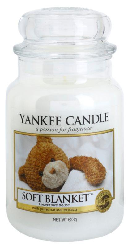 Yankee Candle Soft Blanket vonná sviečka 623 g Classic veľká