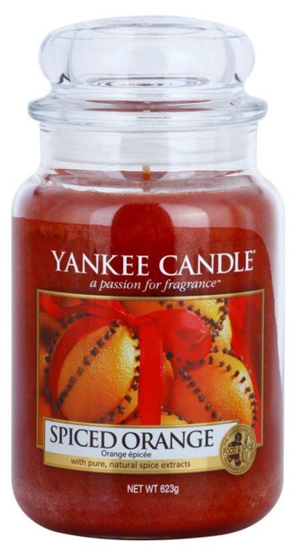 Yankee Candle Spiced Orange lumanari parfumate  623 g Clasic mare