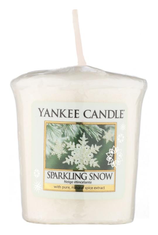 Yankee Candle Sparkling Snow velas votivas 49 g