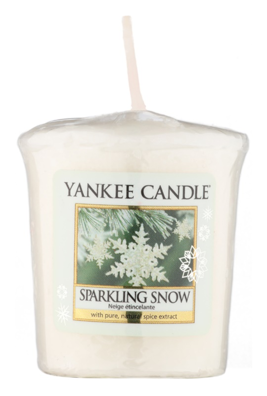 Yankee Candle Sparkling Snow votivní svíčka 49 g