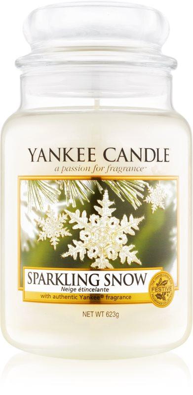 Yankee Candle Sparkling Snow vela perfumada  623 g Classic grande