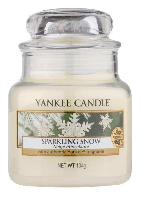 Yankee Candle Sparkling Snow Scented Candle 104 g Classic Mini