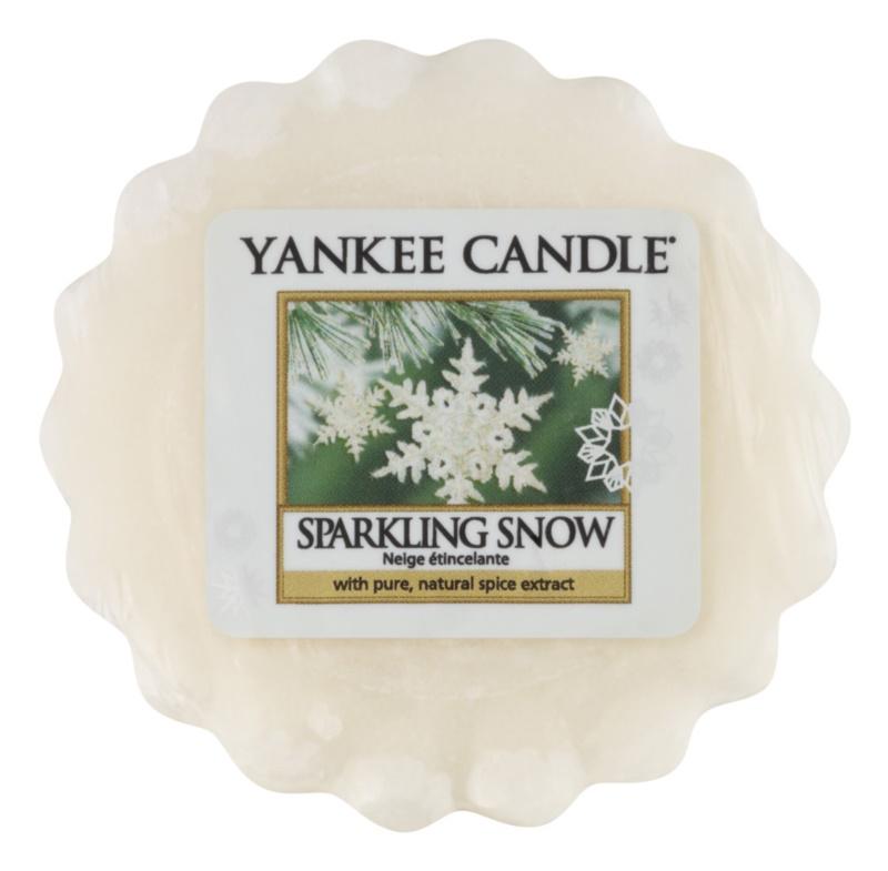 Yankee Candle Sparkling Snow cera per lampada aromatica 22 g