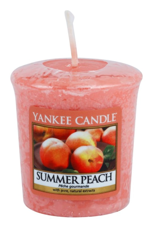 Yankee Candle Summer Peach bougie votive 49 g