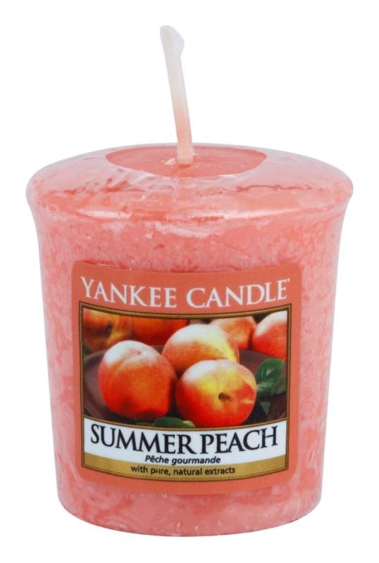 Yankee Candle Summer Peach lumânare votiv 49 g