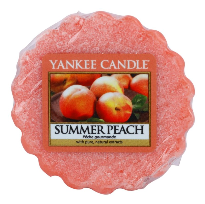 Yankee Candle Summer Peach Vosak za aroma lampu 22 g