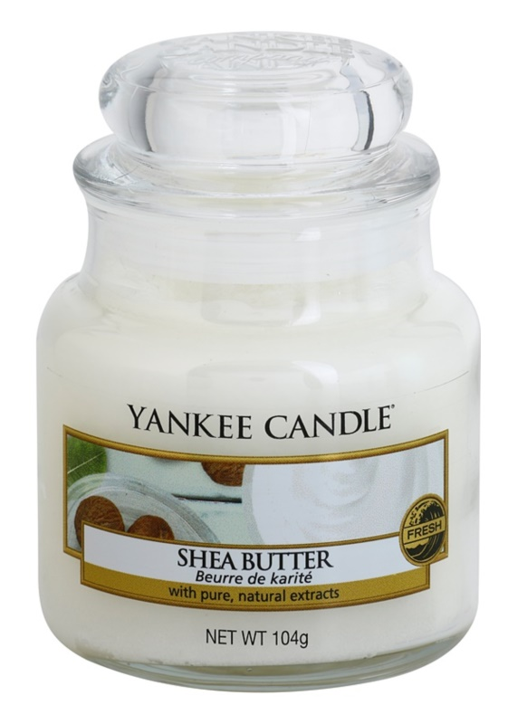 Yankee Candle Shea Butter świeczka zapachowa  104 g Classic mała