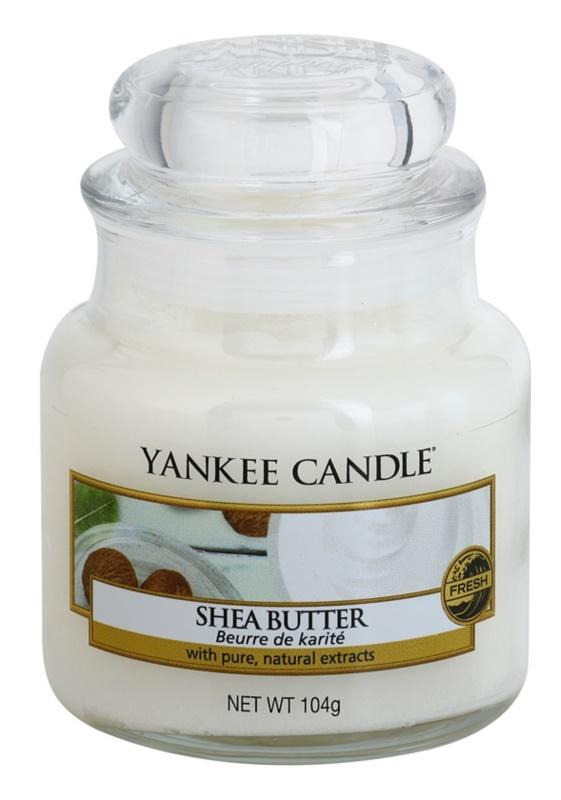 Yankee Candle Shea Butter vela perfumado 104 g Classic pequeno