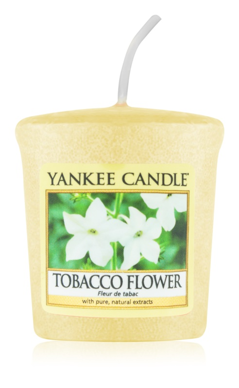 Yankee Candle Tobacco Flower candela votiva 49 g