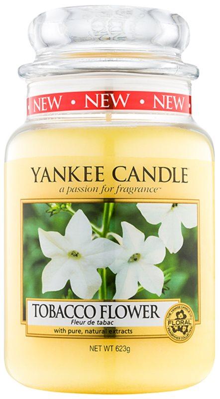 Yankee Candle Tobacco Flower vela perfumado 623 g Classic grande