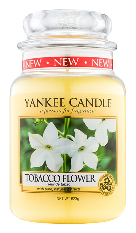 Yankee Candle Tobacco Flower vonná sviečka 623 g Classic veľká