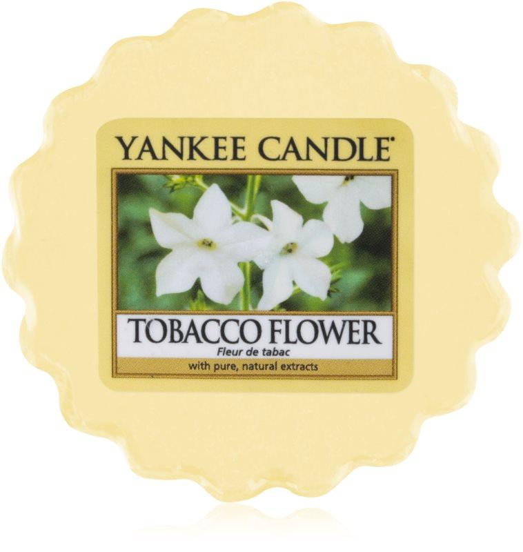 Yankee Candle Tobacco Flower cera per lampada aromatica 22 g