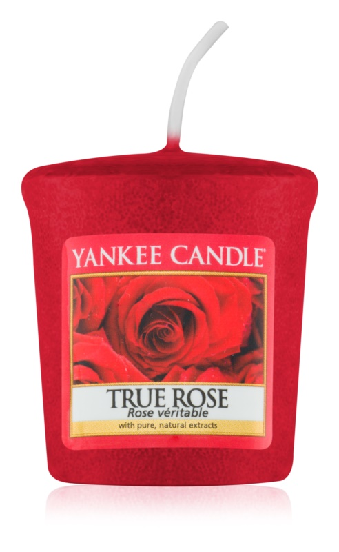 Yankee Candle True Rose candela votiva 49 g