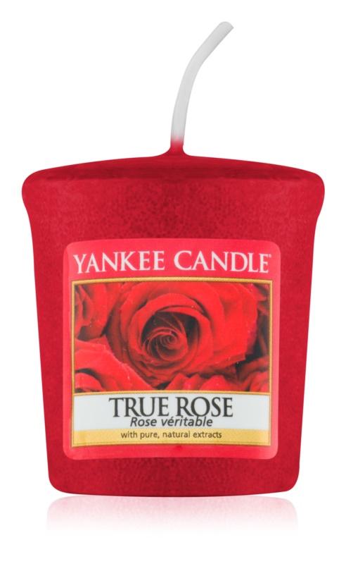 Yankee Candle True Rose Votivkerze 49 g