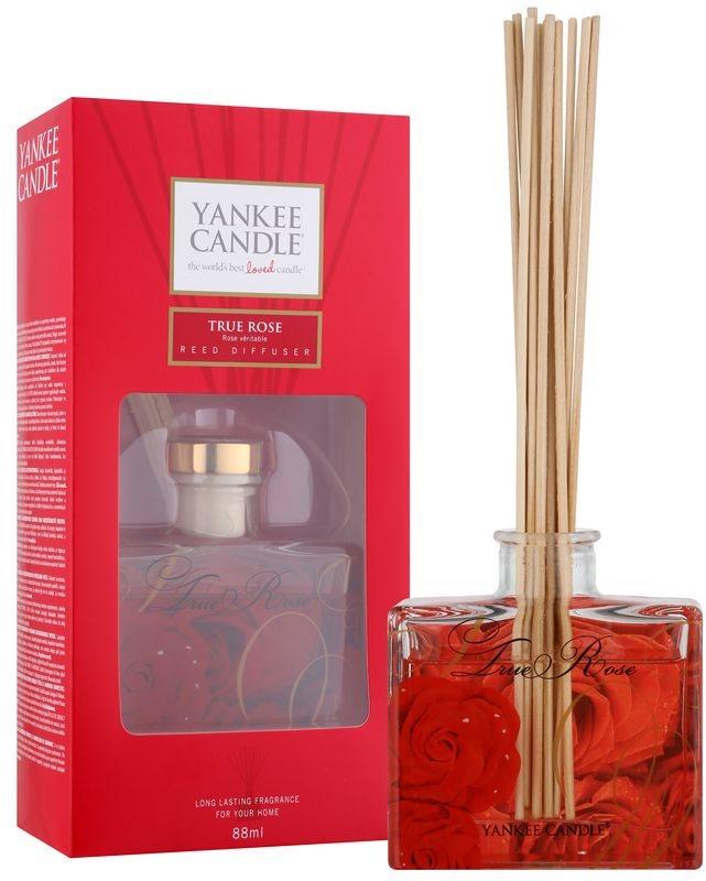 Yankee Candle True Rose aroma difuzor s polnilom 88 ml Signature