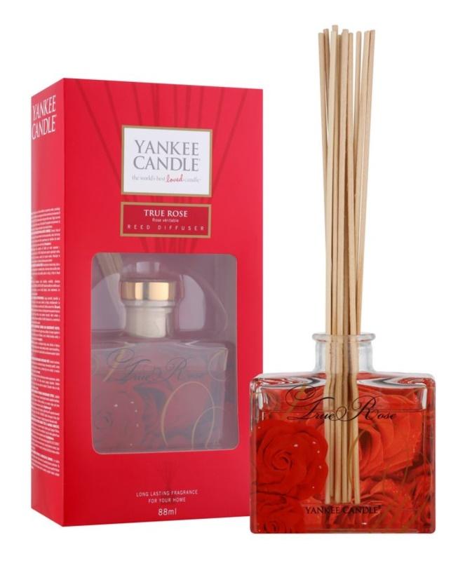 Yankee Candle True Rose dyfuzor zapachowy z napełnieniem 88 ml Signature