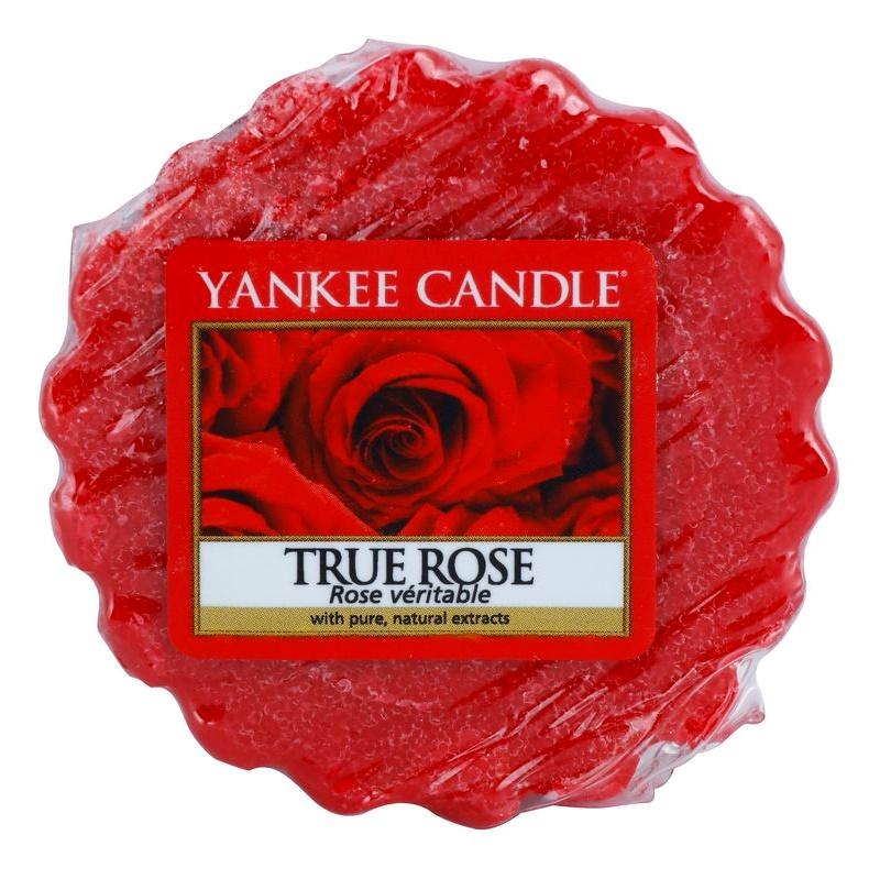 Yankee Candle True Rose tartelette en cire 22 g