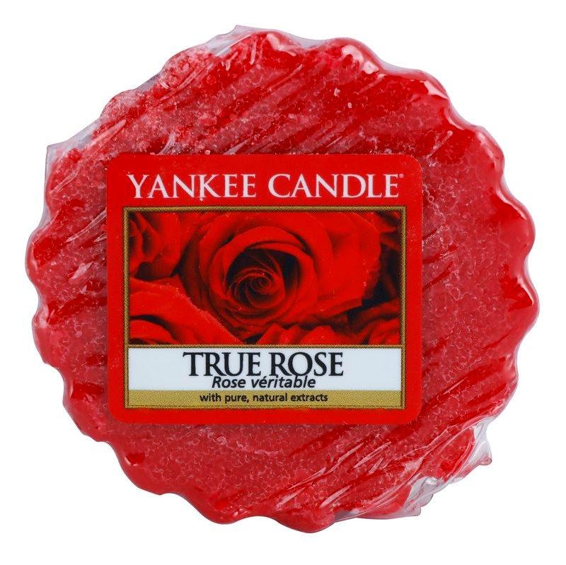 Yankee Candle True Rose Wachs für Aromalampen 22 g