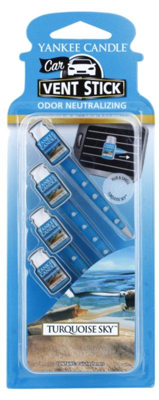 Yankee Candle Turquoise Sky Car Air Freshener 4 kpl