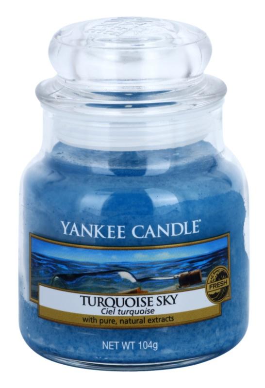 Yankee Candle Turquoise Sky illatos gyertya  104 g Classic kis méret