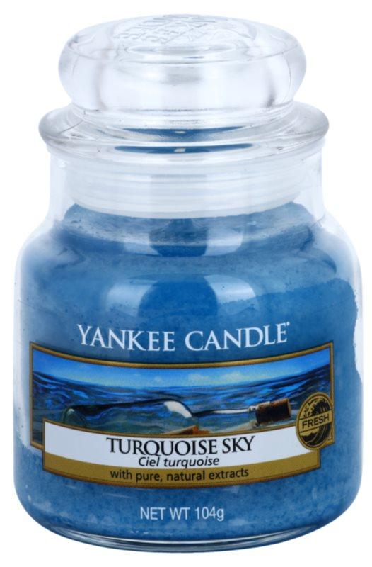 Yankee Candle Turquoise Sky vonná sviečka 104 g Classic malá