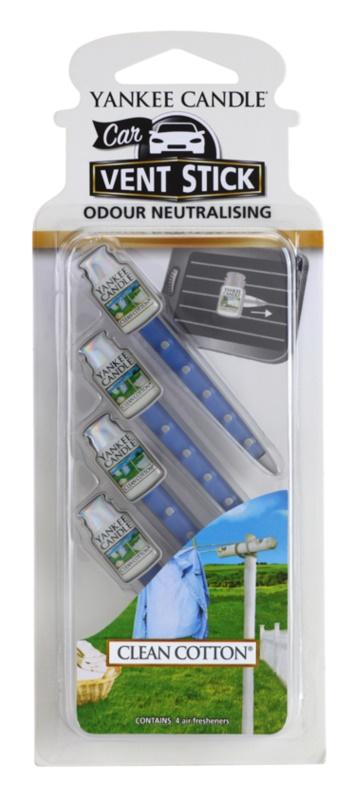 Yankee Candle Clean Cotton Car Air Freshener 4 pc