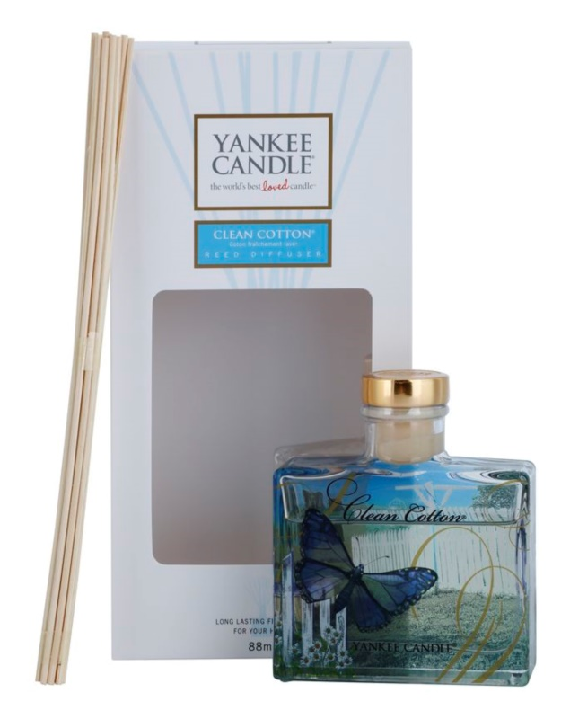 Yankee Candle Clean Cotton Aroma Diffuser With Filling 88 ml Signature