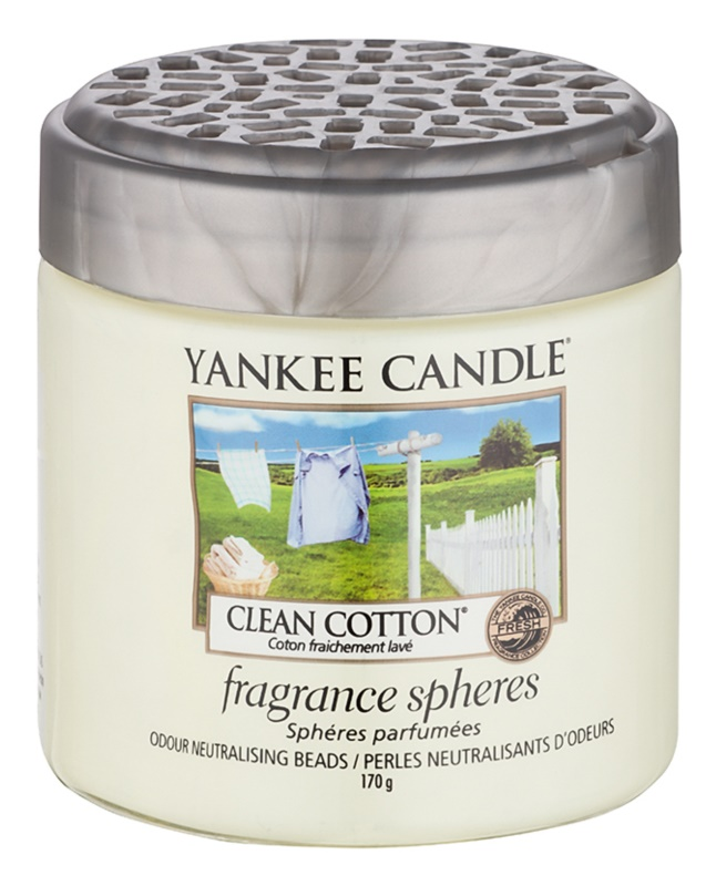 Yankee Candle Clean Cotton perełki zapachowe 170 g
