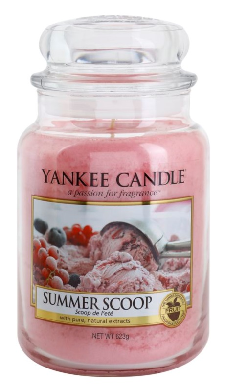 Yankee Candle Summer Scoop świeczka zapachowa  623 g Classic duża