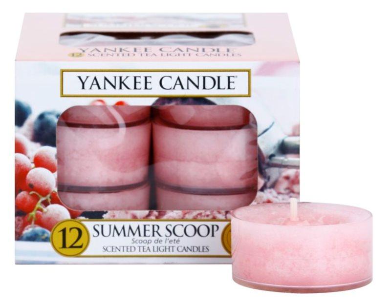 Yankee Candle Summer Scoop świeczka typu tealight 12 x 9,8 g