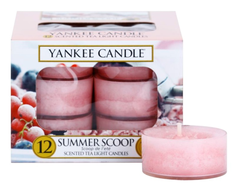 Yankee Candle Summer Scoop teamécses 12 x 9,8 g