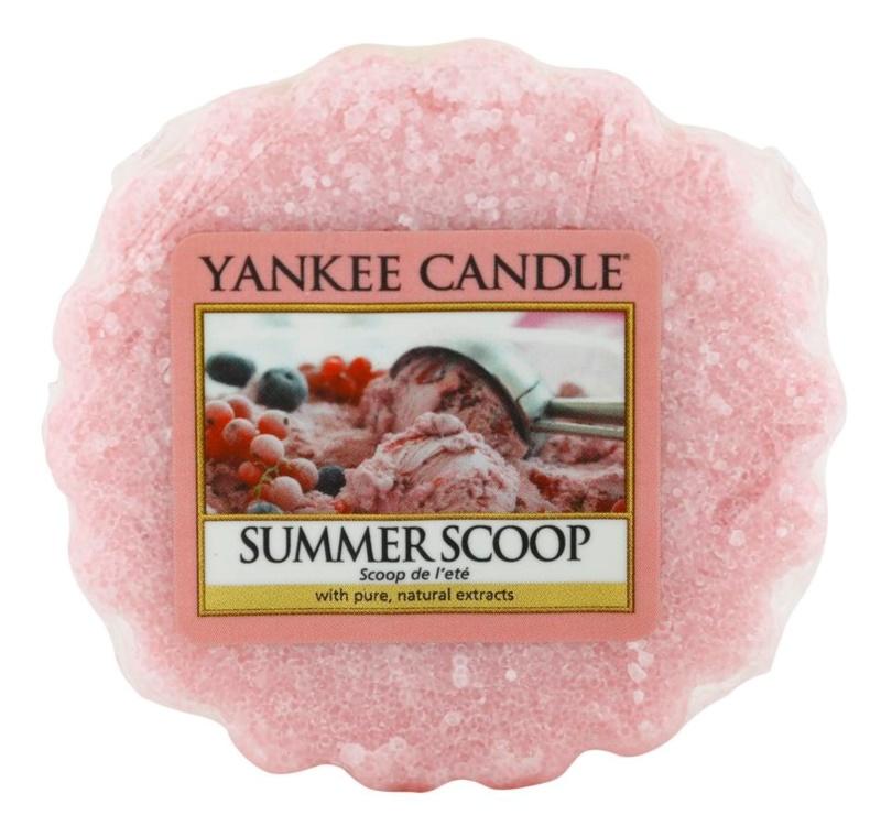 Yankee Candle Summer Scoop illatos viasz aromalámpába 22 g