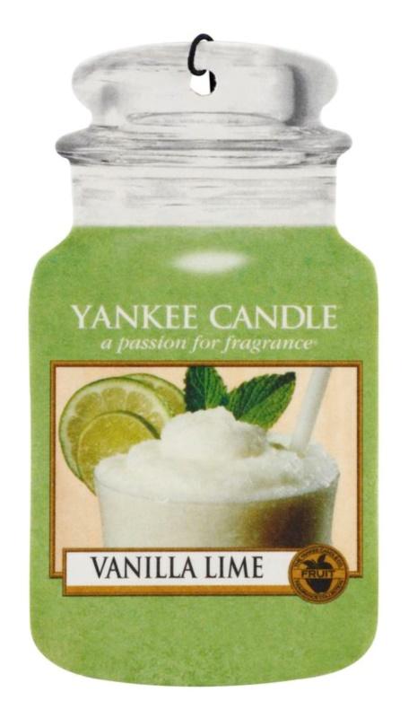 Yankee Candle Vanilla Lime Car Air Freshener 1 kpl