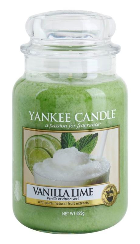 Yankee Candle Vanilla Lime candela profumata 623 g Classic grande