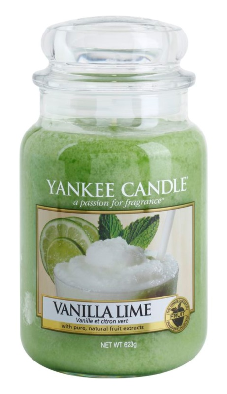 Yankee Candle Vanilla Lime vela perfumada  623 g Classic grande