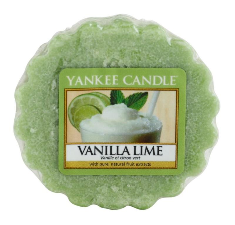 Yankee Candle Vanilla Lime Wachs für Aromalampen 22 g