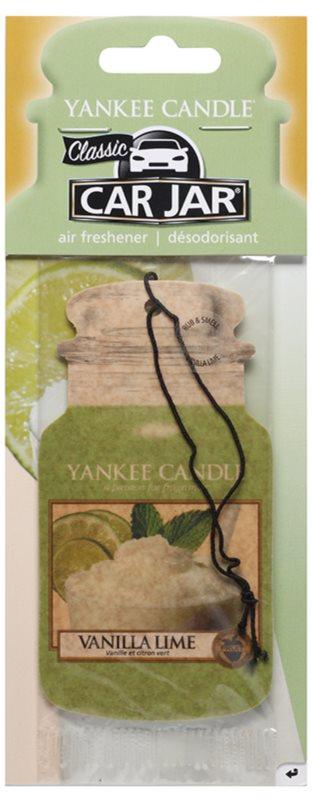 Yankee Candle Vanilla Lime ambientador para carro