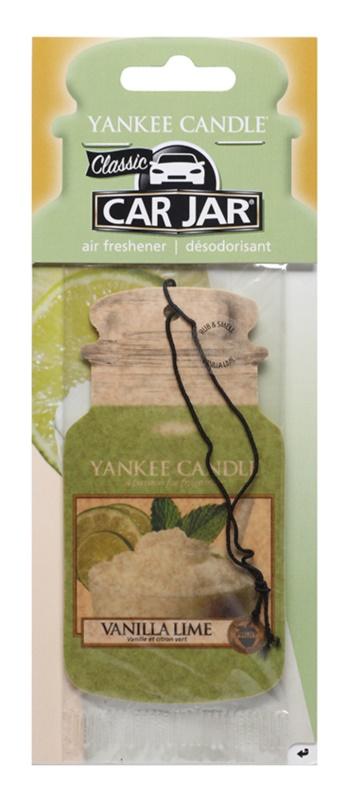 Yankee Candle Vanilla Lime deodorante per auto da appendere