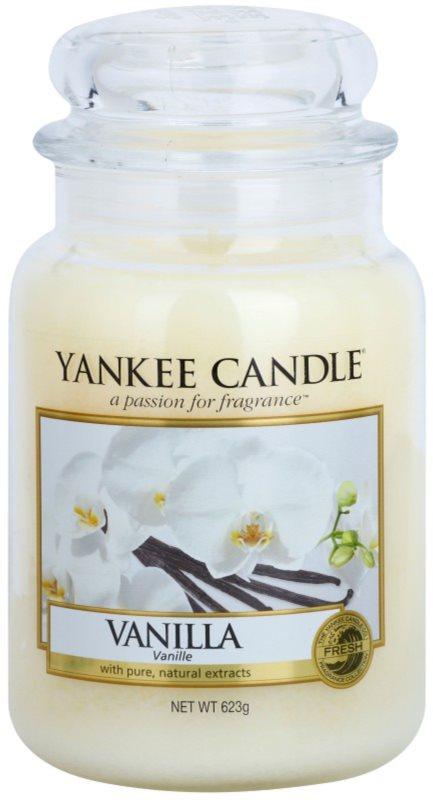 Yankee Candle Vanilla ароматна свещ  623 гр. Classic голяма