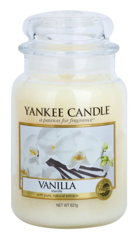 Yankee Candle Vanilla bougie parfumée 623 g Classic grande