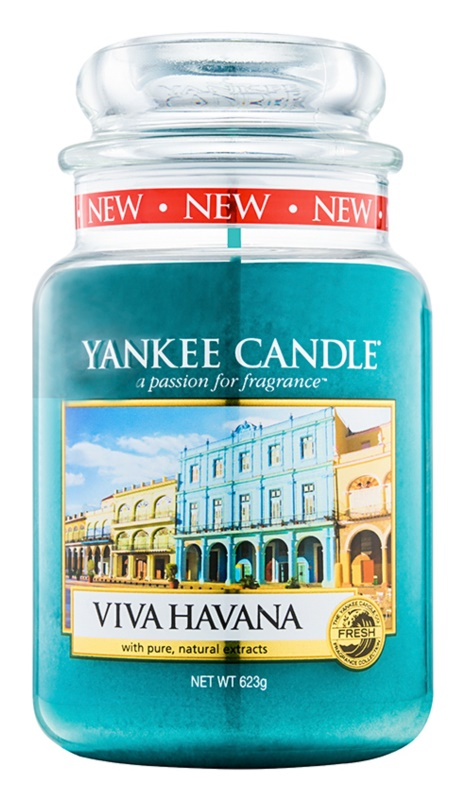 Yankee Candle Viva Havana ароматна свещ  623 гр. Classic голяма