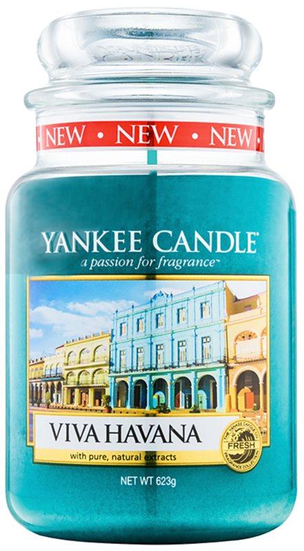 Yankee Candle Viva Havana vonná svíčka 623 g Classic velká
