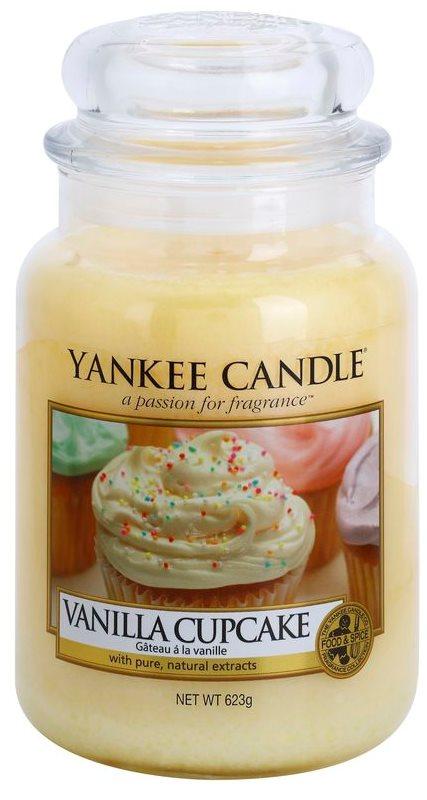 Yankee Candle Vanilla Cupcake illatos gyertya  623 g Classic nagy méret