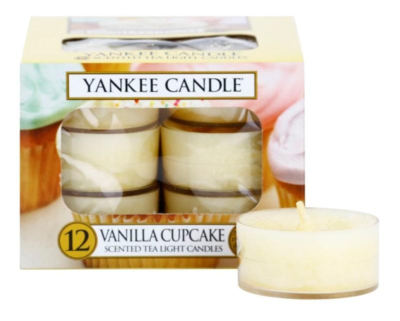 Yankee Candle Vanilla Cupcake Чаена свещ 12 x 9,8 гр.