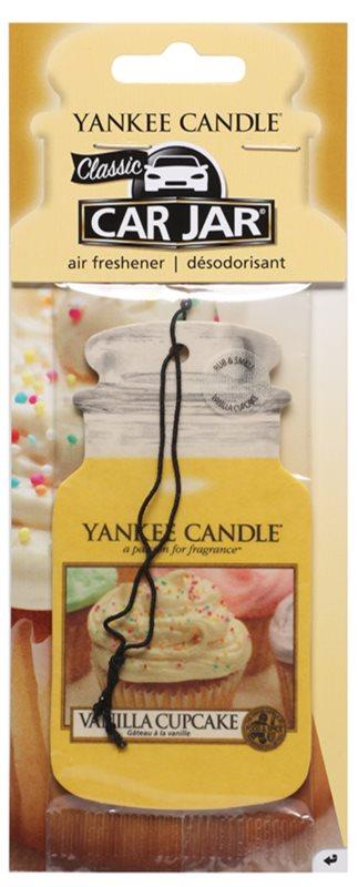 Yankee Candle Vanilla Cupcake Auto luchtverfrisser hangend