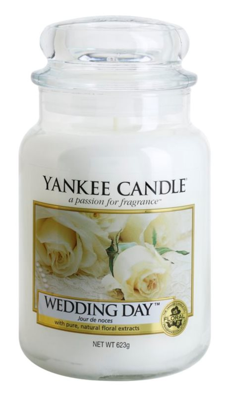 Yankee Candle Wedding Day bougie parfumée 623 g Classic grande