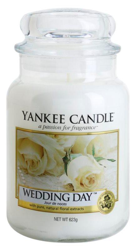 Yankee Candle Wedding Day lumânare parfumată  623 g Clasic mare