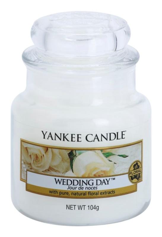 Yankee Candle Wedding Day świeczka zapachowa  104 g Classic mała